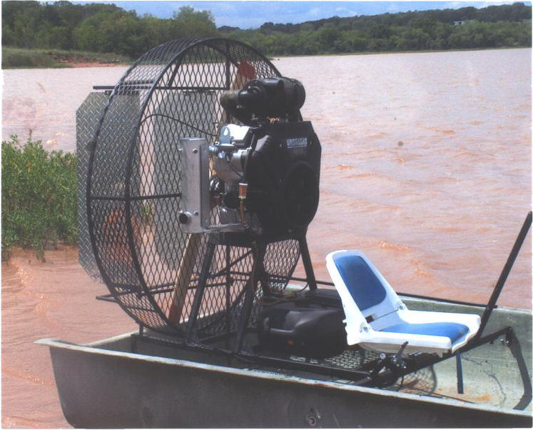 Arrowprop skooter airboat with arrowdrive for Mini crossbow fishing